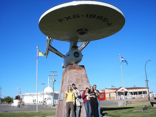 Big Starship Enterprise