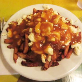 Poutine or: How I learned to stop worrying and love the cheese curds