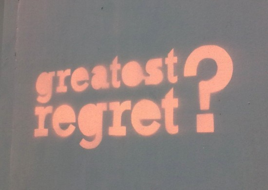 Greatest Regret