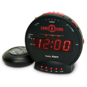 Wake up to good vibrations with a silent alarm clock
