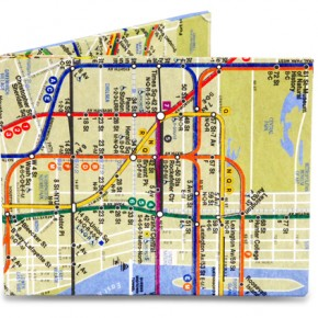 Get yourself around town and out of a mugging with this all-in-one map and wallet