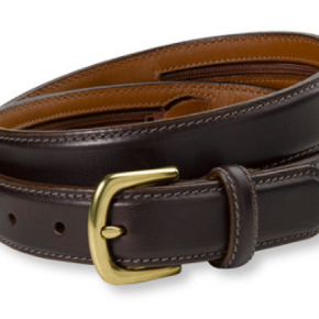 The money belt that's actually a belt