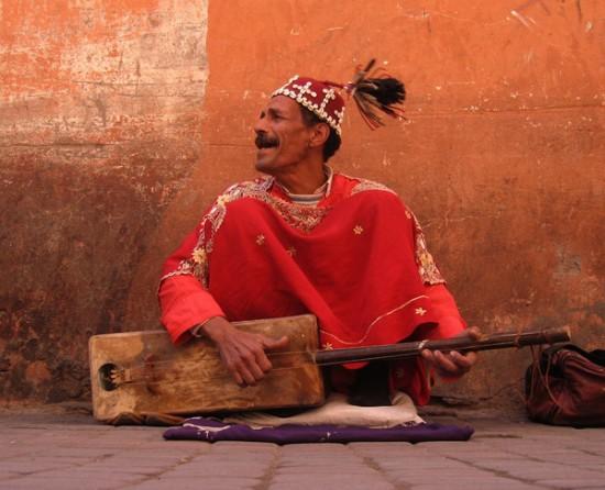 Musician in Morocco