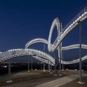 Germany unveils a walkable rollercoaster