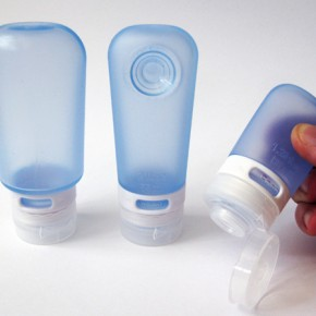 Squeezable travel-sized bottles for your liquids