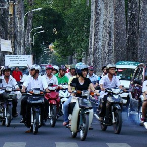 Behold Vietnam's terrifying traffic