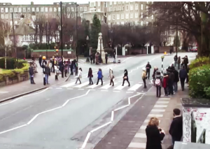 Why did the tourists cross the road? It's all in the name of Beatlemania.