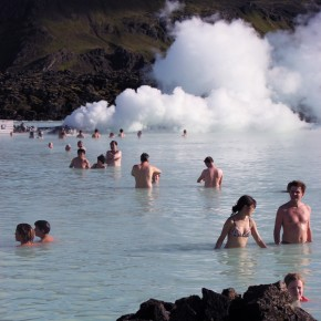 Get some pre-flight R&R at Iceland's Blue Lagoon