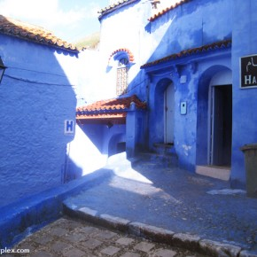 In Pictures: Morocco's blue city