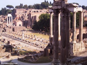 These ancient ruins in Rome become more interesting if you can picture them as part of a functioning city.