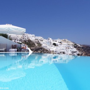 Santorini, Greece: Is this the world's most stunning hotel or what?