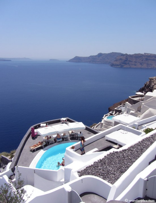 Andronis Boutique Hotel caldera view