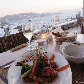 Awakening the palate in Mykonos, Greece