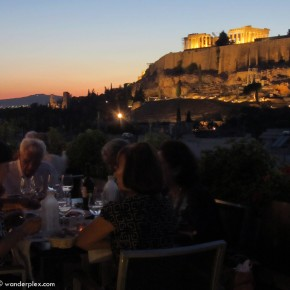 Dining with the gods in Athens
