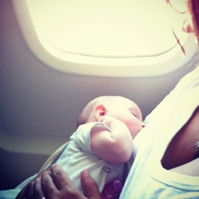 How would you like to fly in a baby-free zone? Photo by Caitlin Regan.