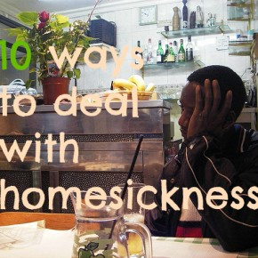 10 Ways To Deal With Homesickness Now