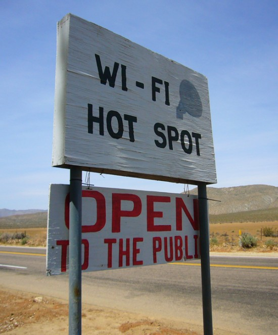 free wifi during holiday travel