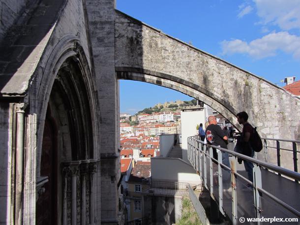 carmo convent lisbon portugal