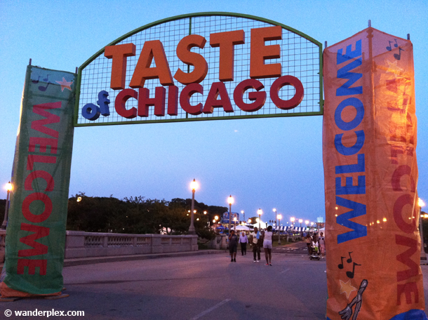 taste-of-chicago-entrance